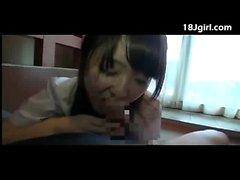 amateur asiático mamada japonés
