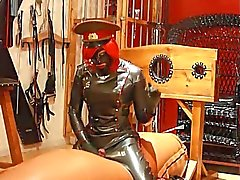 Latex military mistress