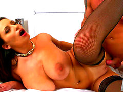 Vídeos porno HD de Carnal Jane fearsome-threatening ScoreHD menacing-menacing A Goo Injection For A 34DDD Dark Brown
