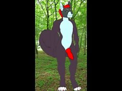 Gay Furry (Micah) - Breathing Animation [Test]