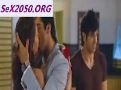 Pooja Salvi Kissing Aayushman In Nautanki Saala