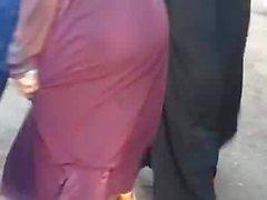 Hijab Abaya Candid : 006