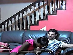 Ebony GF knows hot to please a guy