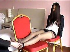 kitzeln asain asiatisch füße
