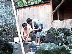 amateur asiatique pipe de plein air voyeur