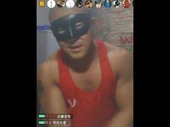китайский нести мышцы соло соло мужчина вебкамера военных китайские азиатские любительские дома