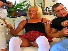 Lainey Jericho is a slutty blonde whore that has no problem