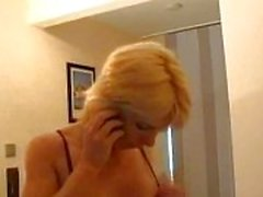 German milf fucks with a son