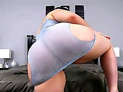 Huge butt bbw Virgo Peridot gets banged by black dick