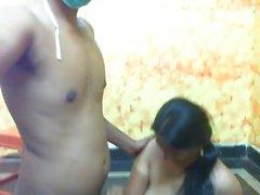 Indian slut with big boobs having sex PART-4