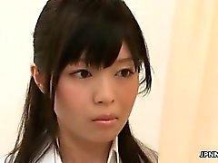 asiático bragas uniforme