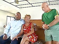 Black Husband watch his Wife fucked by white