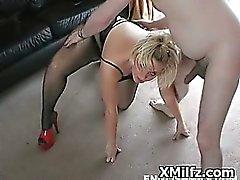 amateur anaal blond creampie gangbang
