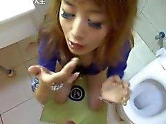 asiatique chinois des gros plans petits seins étudiante
