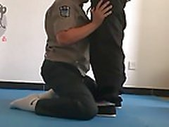 Chinese daddies police training (no cum)