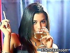 amateur fetiche de fumar
