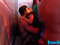 Cfnm party teen banged