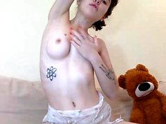 The Most Beautiful 19yo Teen Webcam pillow Masturbation