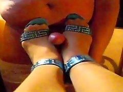 Shoejob - fick meine High Heels