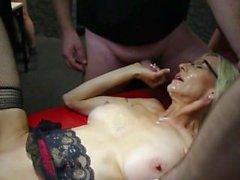 mamá madre alegres tetas orgasmo