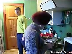 Horny Russian Granny