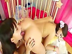 todos los agujeros bebé belleza lesbiana anal