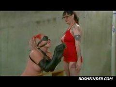 bdsm lesbiana esclavitud fetiche