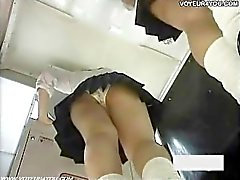 Hidden Camera Panties Print Shot