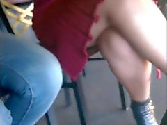 My Candid Milf In Law's Legs