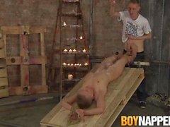 boynapped stora bradley chris jansen rakade manskapslösande ljusstearinljus vax