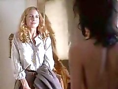 angelina angelina jolie - lesbica ragazza su femminili adolescente