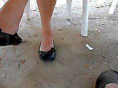 fetichismo del pie upskirts voyeur