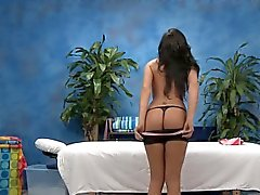 Teen sweetheart gives up the pink to her massage therapist