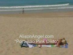 Alison Angel - Portimao Pink Dildo