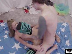 anale bambino biondo pompino doggystyle