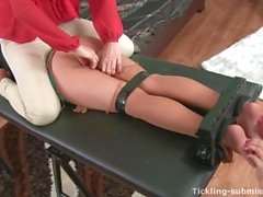 Tortured and Tickled Blonde