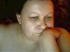 Warm Euro adult mother Karen play on skype