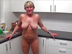 Full Back Knicker's Naked kitchen wipe down