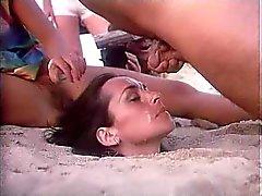 praia engraçado vintage