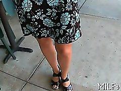 stora bröst brunett onani