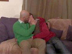 homossexual casal gay sexo oral sexo anal morena