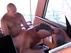 Gay Mature Off Shore Gang Bang