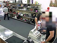 Big tits latina does anything for cash