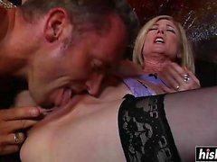 blond britannique doggystyle sexe en groupe hd