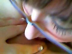 brünett fingersatz lesbisch
