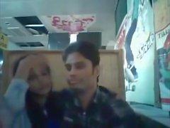 Bangladeshi BF & GF in restaurant 1 full on hotcamgirls . in