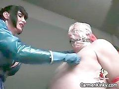 bdsm träldom dominatrix femdom fetisch