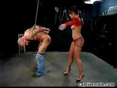 Getting your ass whipped by Penny Flame