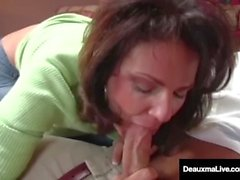 deauxma mãe deauxmalive velha enorme tits amadurecer buceta milf lambendo o par oral sugando pau grande