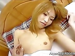 Japanese schoolgirl gets her tight pussy part2